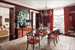 Formal Dining Room w/ Lacquered walls and WBF