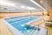 La Palestra's 51' swimming pool