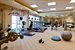 Fitness centre, steam rooms and saunas