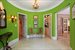Brightly colored interiors