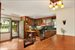 KItchen and Dining areas feature custom oak cabinetry & built ins