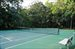 Tennis courts for the community