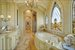 Master bath featuring exquisite stained glass