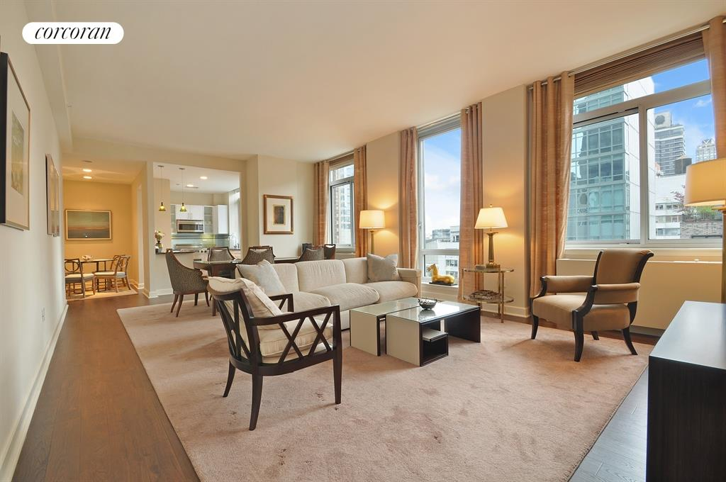 separate living room and dining room corcoran 212 east 57th apt 18a midtown east 26313