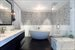 Grand en-suite master bathroom