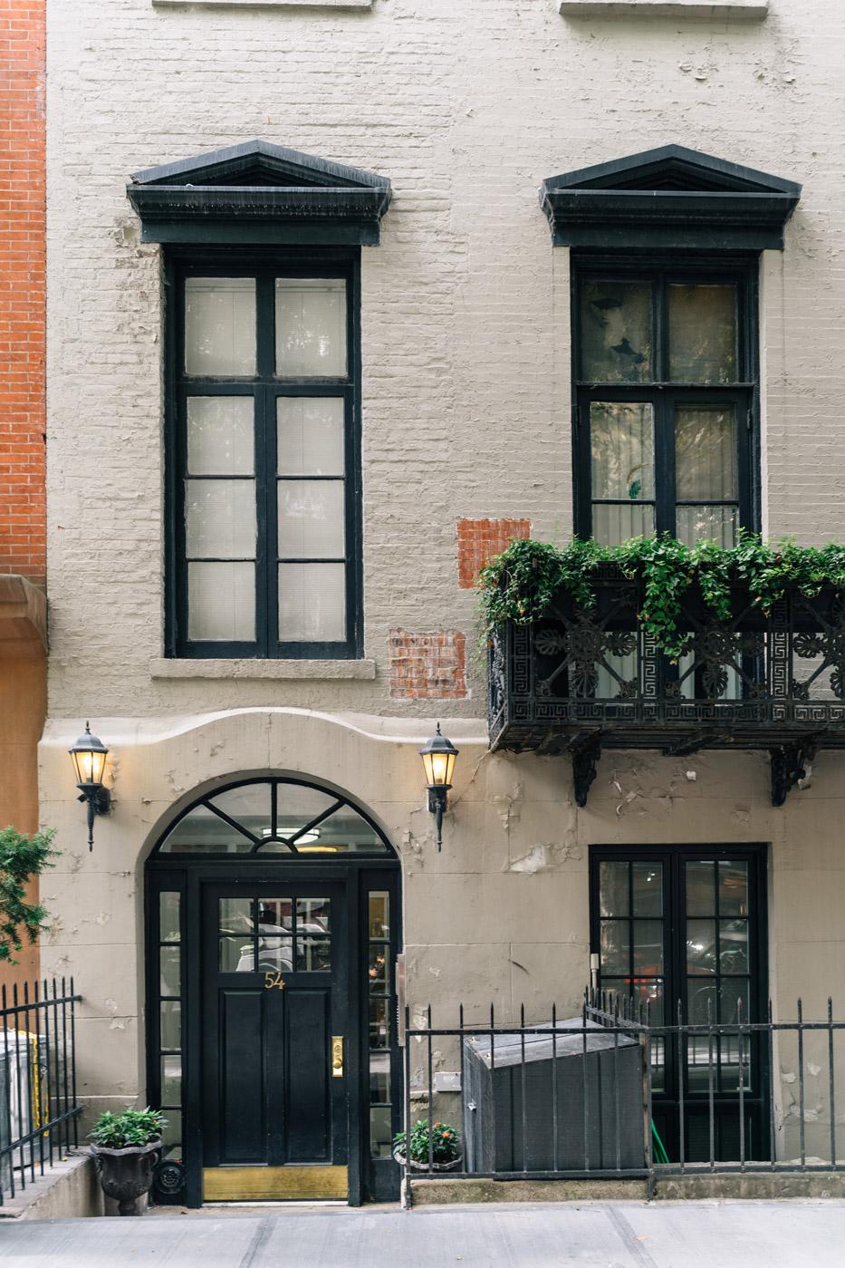 Luxurious townhomes in West Village, Manhattan