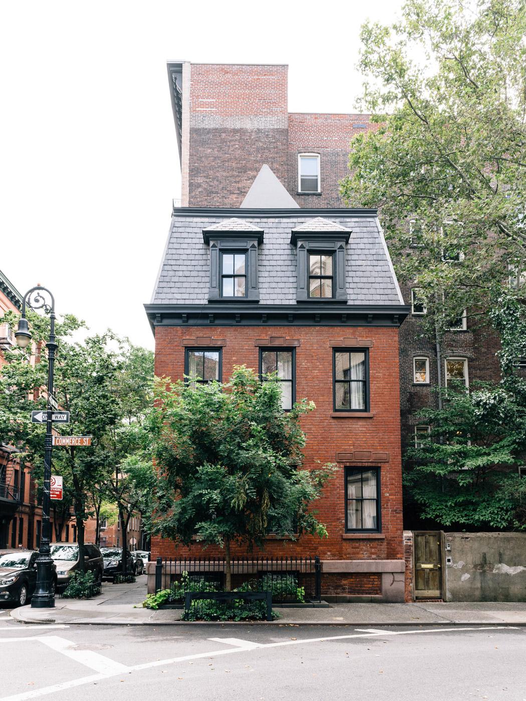Quaint townhome in West Village, Manhattan