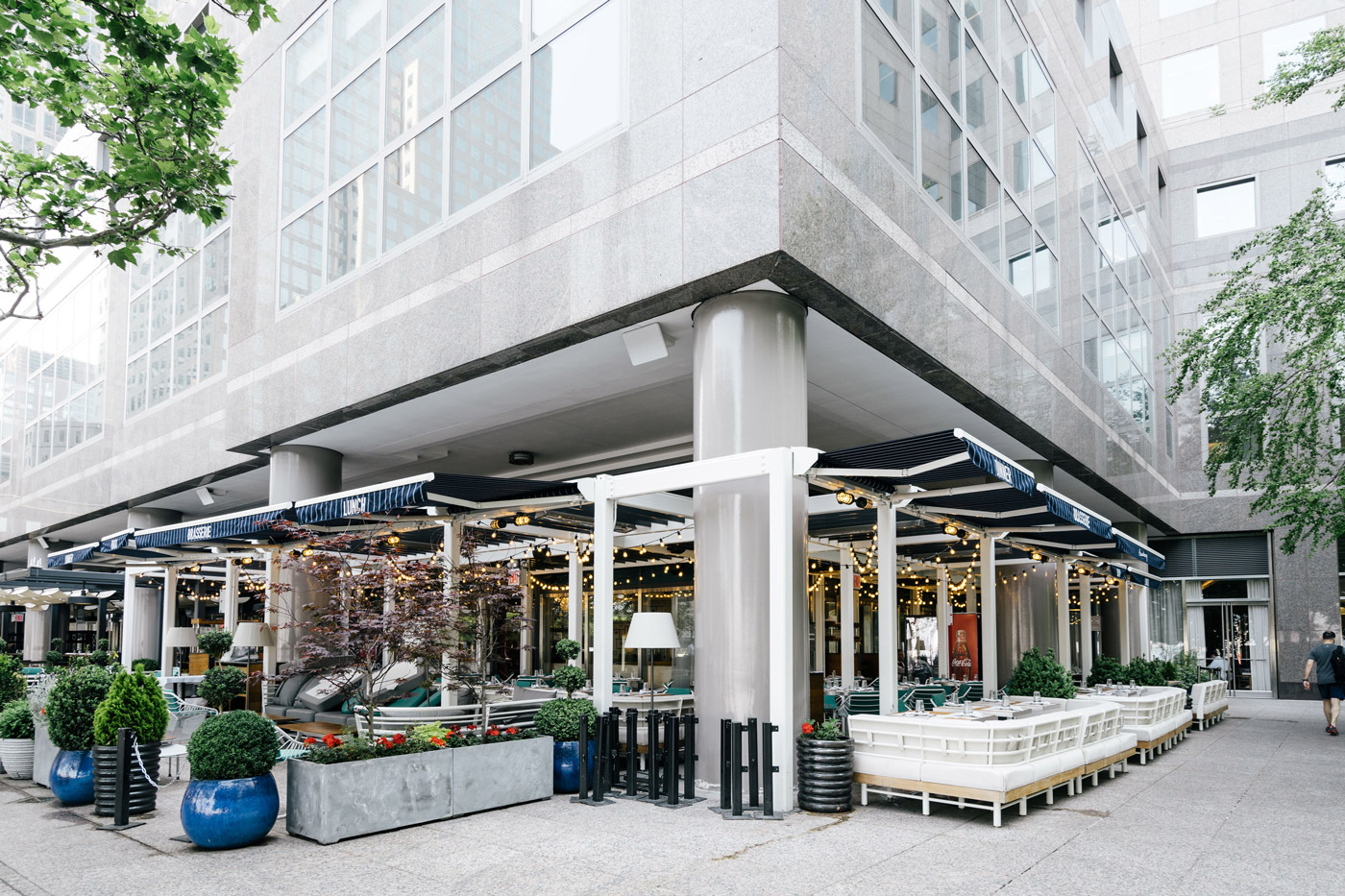 "Restaurants in Battery Park City"" style="