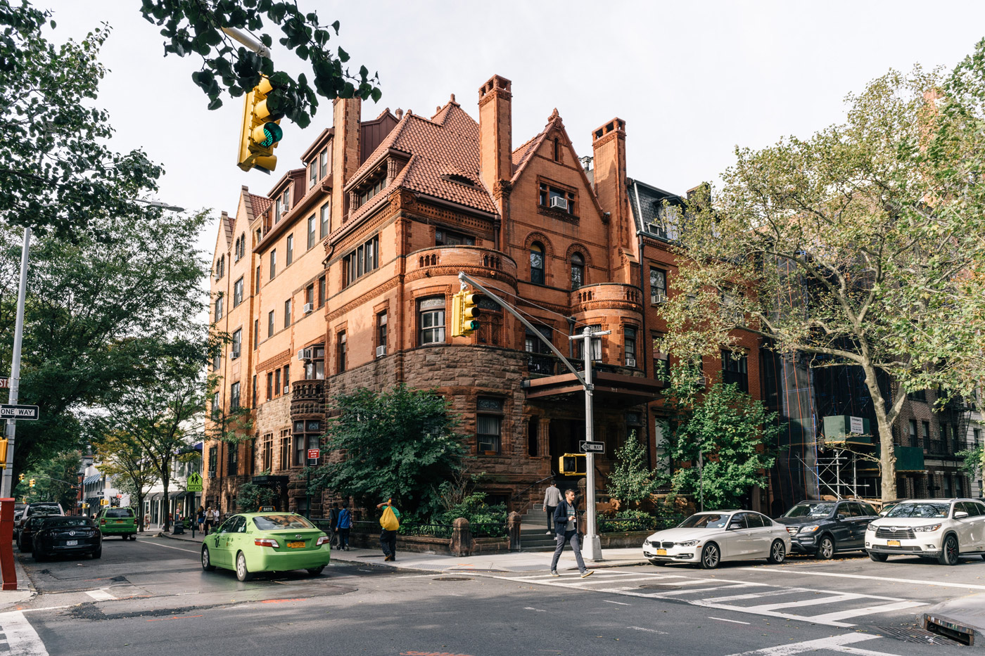 Traditional brownstone in brooklyn heights with contemporary - Brooklyn Heights History