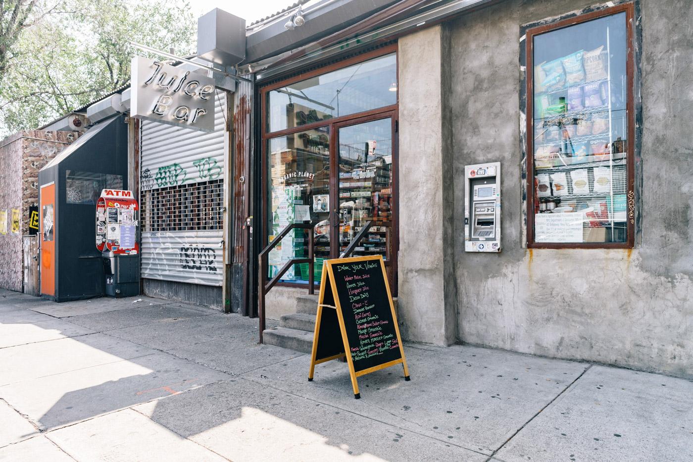 Juice Bar in Bushwick, Brooklyn