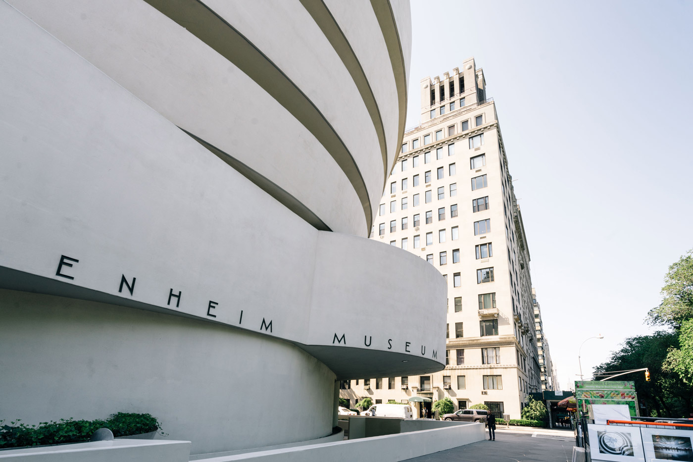 The Guggenheim Museum in Carnegie Hill