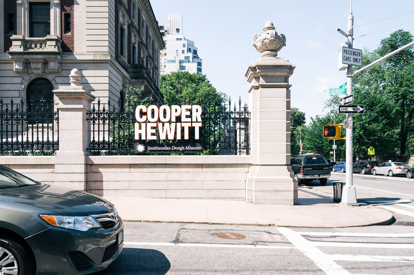 Cooper Hewitt Smithsonian Design Museum in Carnegie Hill at East 91st and 2nd.