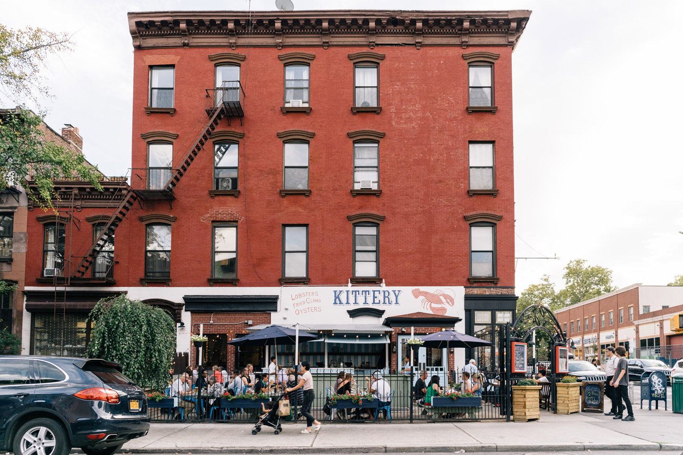 "The Kittery restaurant on Smith St. in Carroll Gardens"" style="