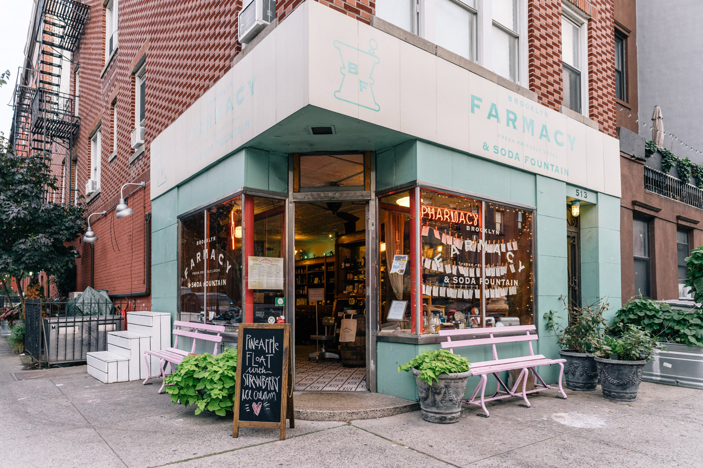 "Brooklyn Farmacy & Soda Fountain in Carroll Gardens"" style="