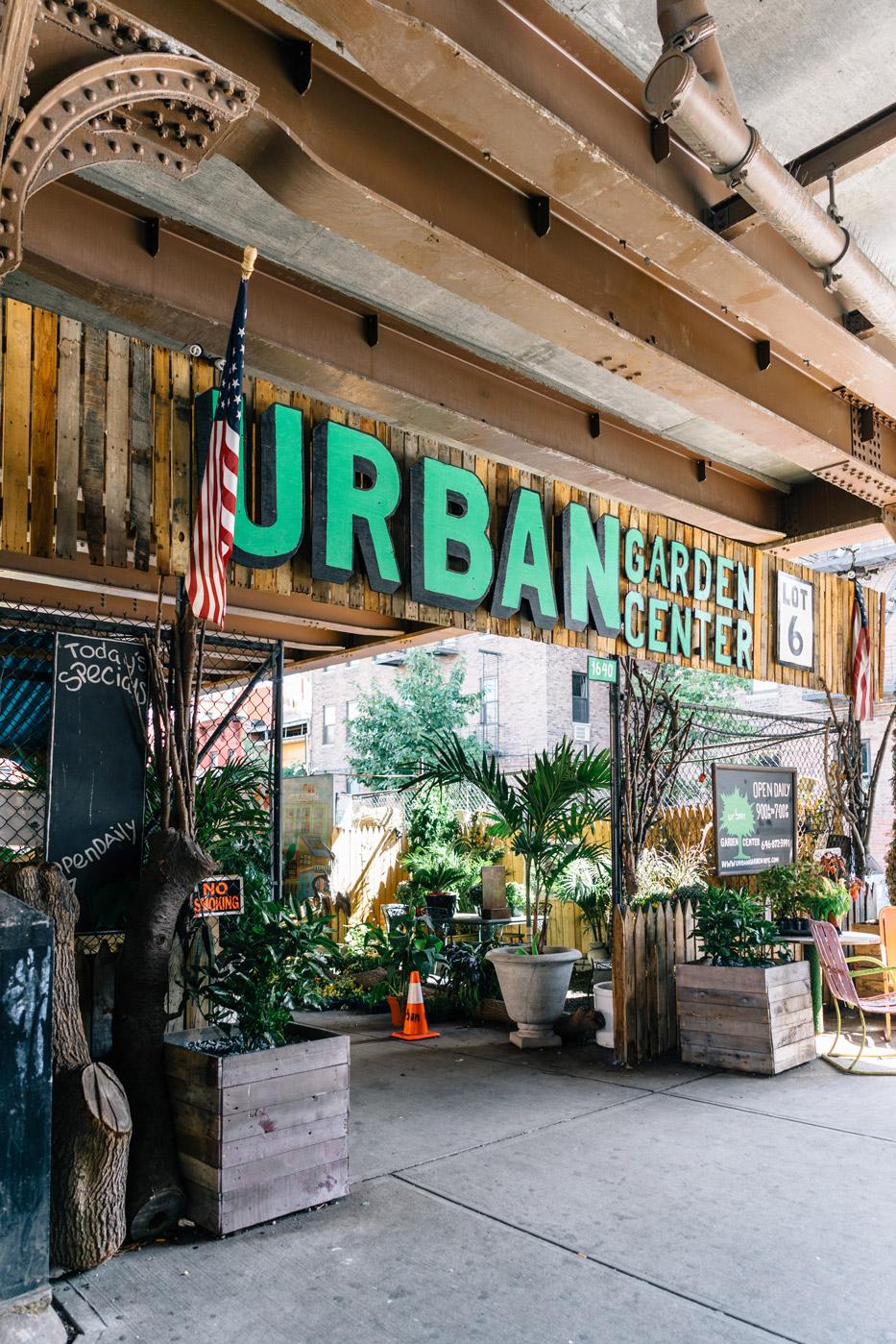 Urban Garden Center in East Harlem