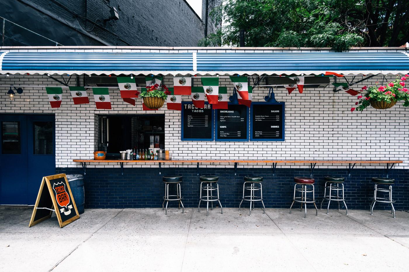 Taco Bar 358 Bowery New York, NY 10003