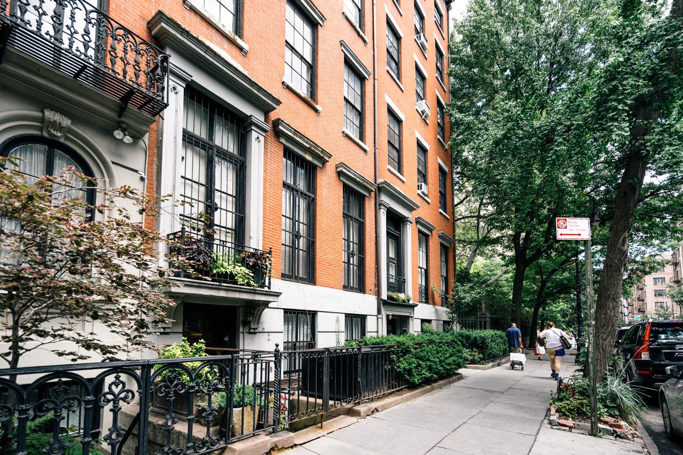 Brownstones for sale in East Village