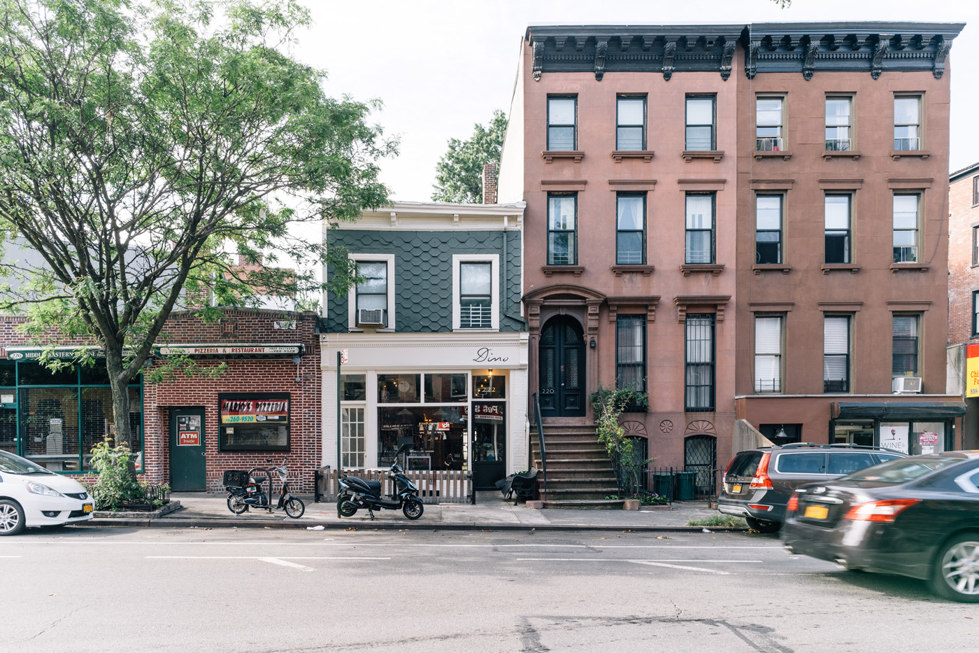 Dino in Fort Greene. 222 Dekalb Ave, Brooklyn, NY 11205