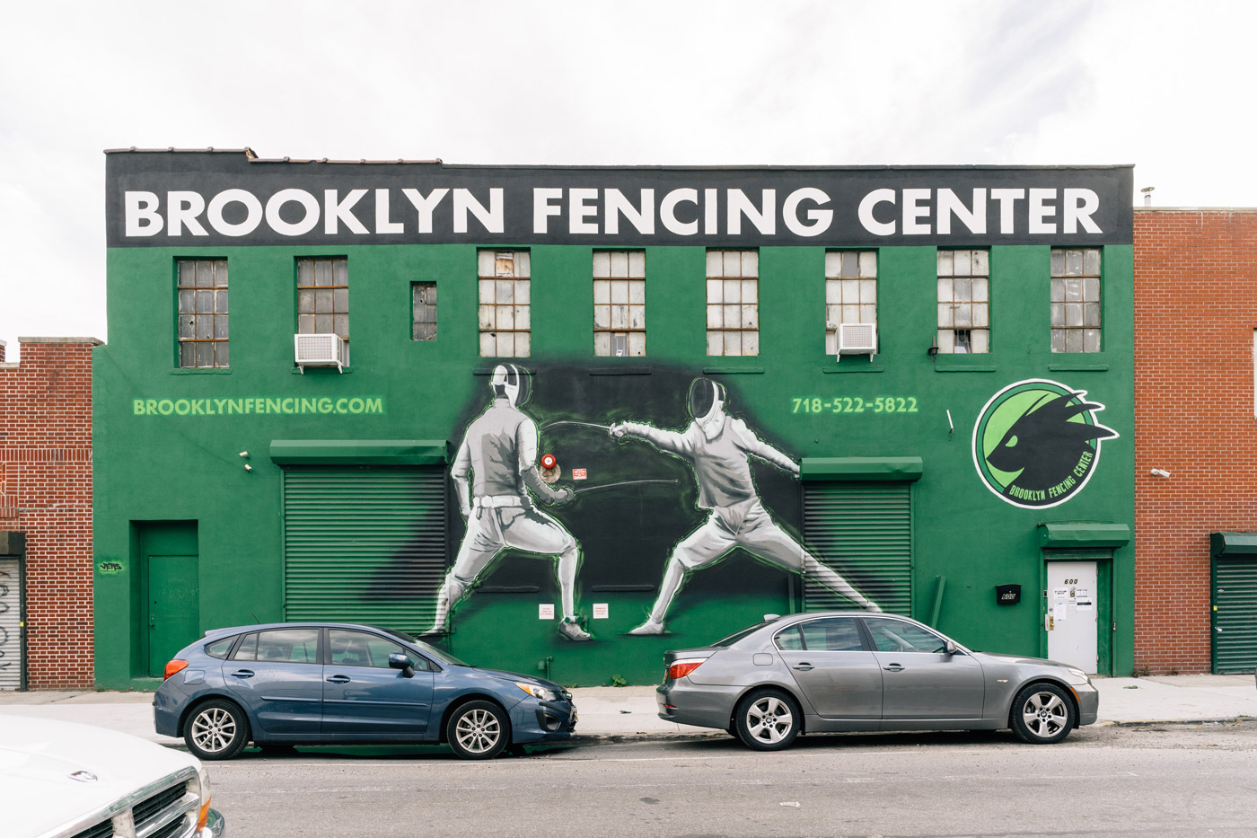 "Brooklyn Fencing Center on Degraw St. in Gowanus"" style="