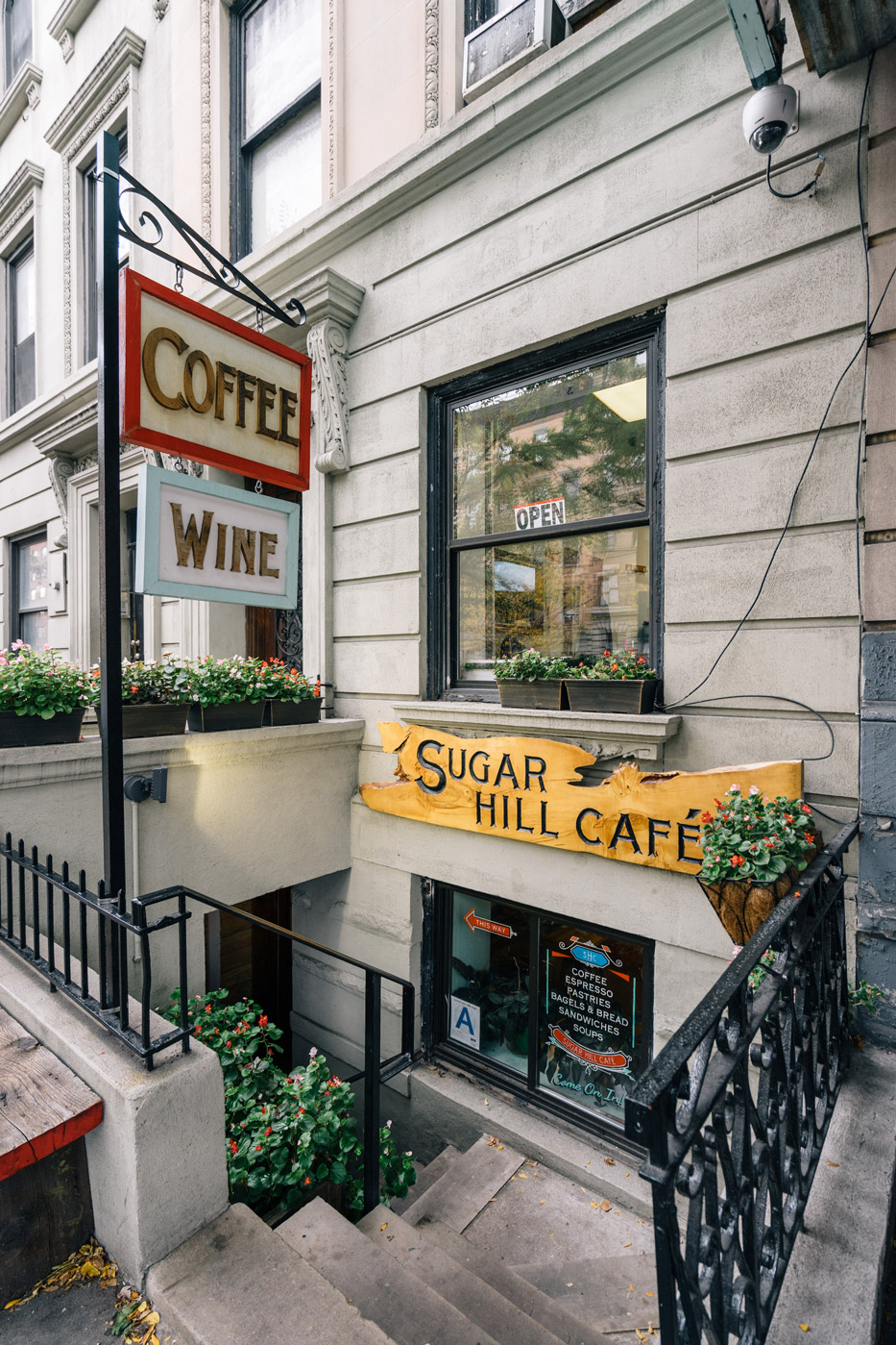 The Sugar Hill Cafe in Hamilton Heights
