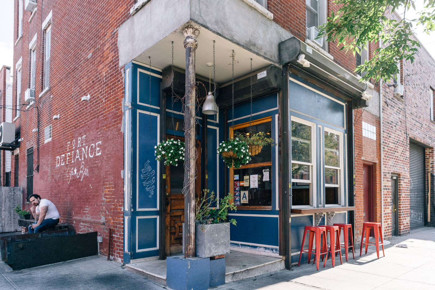 "Fort Defiance Café and Bar in Red Hook"" style="