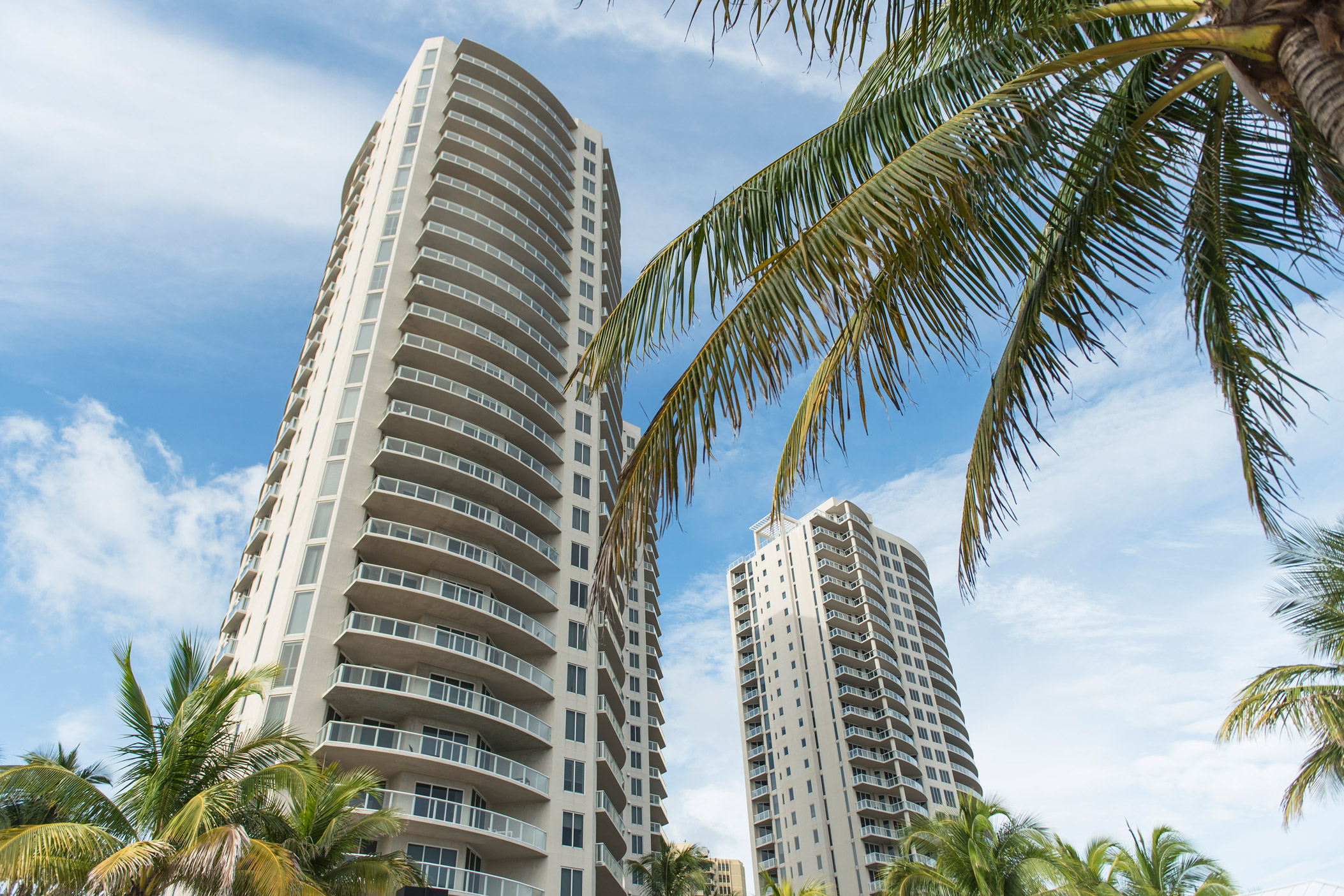"High-rise residential buildings in Singer Island"" style="