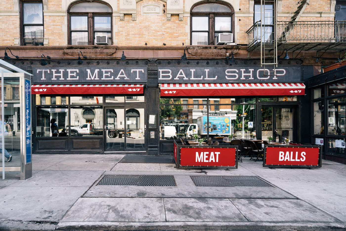 The Meat Ball Shop in the Upper West Side in Manhattan