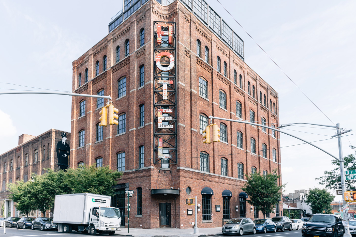 Iconic hotel in Williamsburg Brooklyn